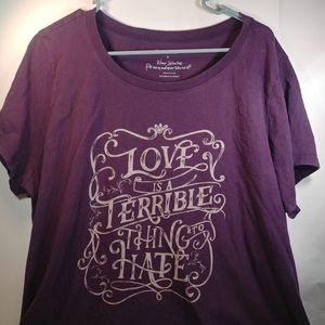 Torrid Size 3 Purple T-Shirt (Perfect 4 the Gym)